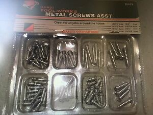 Metal Screw Assortment