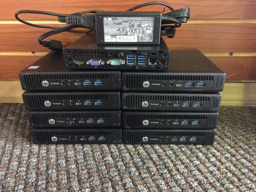 Hp Prodesk 600 Usff/mini/tiny G2 I5-6600t 8gb/16gb 128/240gb Ssd Hd Win 10 Pro