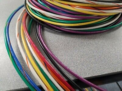 12 Gauge Wire 10 Colors 25 Ft Ea Primary Awg Stranded Copper Power Mtw