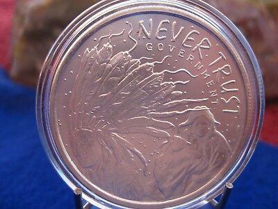 2014 Silver Shield  Never Trust Government