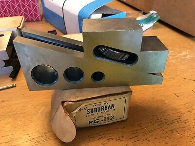 Suburban Tool Pg-112 Planer Gage Machinist Tool In Box.  Machine Tooling