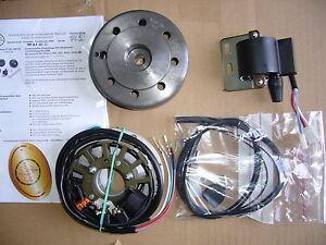 Simson SR 2   Powerdynamo  6V Lichtmaschine mit kontaktl. Zündung
