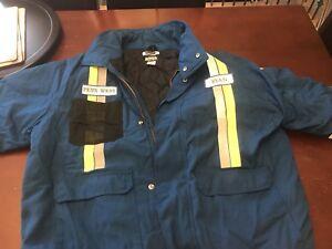 Bulwark winter coveralls bomber jacket