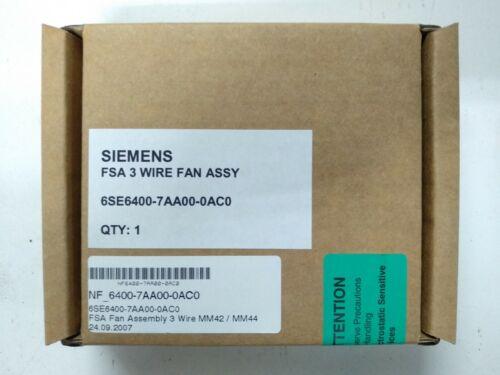 Brand New Siemens 6SE6400-7AA00-0AC0 3 Wire Fan