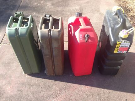 Wanted: Jerry fuel cans 20L