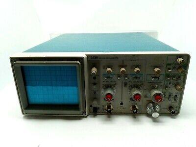 Tektronix Oscilloscope 2235 100mhz W Rack Mount - Powers On - Voltage Display
