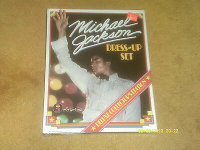 Michael Jackson DRESS-UP SET   New In Box  DELUXE COLLECTORS EDITION SEALED