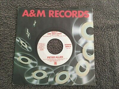 Peter Allen-Don't cry out loud.7
