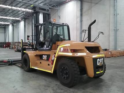 CATERPILLAR DP160N - 16 ton Forklift with A/C cabin
