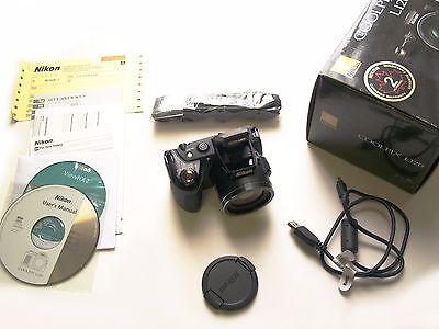 BLACK Nikon COOLPIX L120 14.1 MP 21X Optical Len Original Parts Prefect Like New online kaufen
