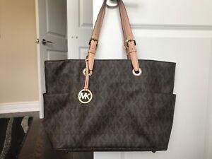 Michael Kors purse and laptop bag