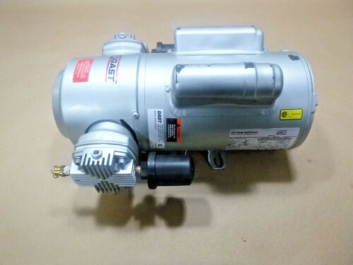 Gast Oilless Piston Air Compressor 5HCD-10-M551X , Single Phase 50/60 Hz 115/230