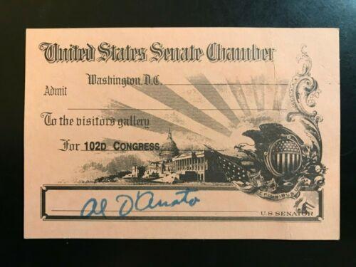102nd Congress Senate Chamber Visitor