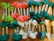 Needlepoint Yarn Lot