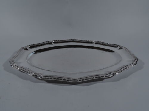 Puiforcat / Cartier Tray - Belle Epoque Classical Platter - French 950 Silver