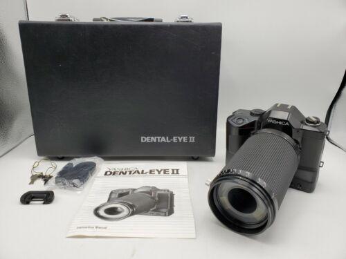Yashica Dental-Eye II SLR Close Up 35mm Film Camera w/ 100mm F4 Lens *READ*