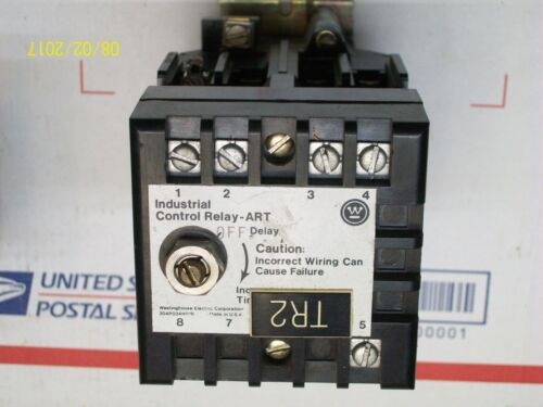**LOT OF 2** WESTINGHOUSE INDUSTRIAL CONTROL RELAY 120V COIL , 766A023G01