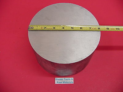 8 Aluminum 6061 Round Rod 6 Long T6511 8.0 Diameter Solid Lathe Bar Stock