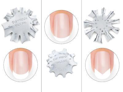 Acryl Nail Art (Easy French Smile Cut Set Nail Art Schablone Edge Trimmer Cutter Acryl Modellage)