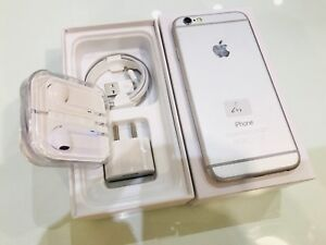 I phone 6 64gb (silver) used as new unlocked '''