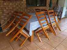 8 seater square table Tolga Tablelands Preview