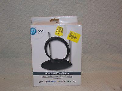 ONN Easy Adjust Indoor HDTV Antenna (ONA16AV002) Free TV Indoor Antenna NO Bill