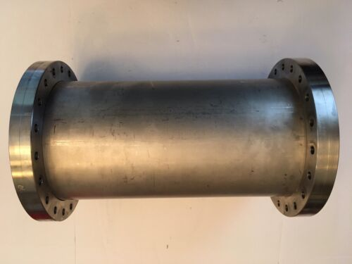 "Custom 8"" ConFlat Flange Nipple (both flanges non-rotatable), 12.75"" long"