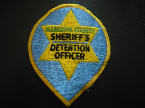 VINTAGE*MARICOPA COUNTY ARIZONA SHERIFF DETENTION OFFICER PATCH