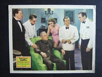 MR. MOTO IN DANGER ISLAND '39 PETER LORRE AS FAMOUS DETECTIVE WITH JEAN HERSHOLT