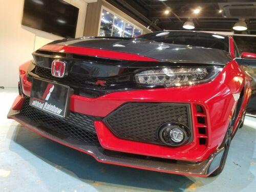 Real Carbon Fiber Spoiler Body Kit Fit For Honda 2018 Civic Type-r Fk8