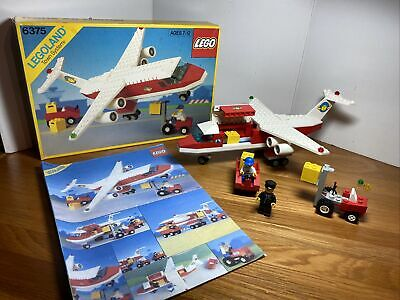 *RARE* Lego 6375 City Town Trans Air Carrier Complete with Mini Figures