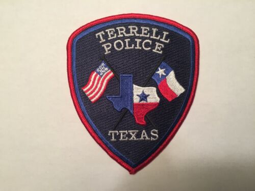 Terrell TEXAS Police Patch