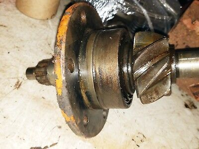 Allis Chalmers Wc Tractor Rearend Pinion Gear Shaft Assembly Part Rc Retainer Ac