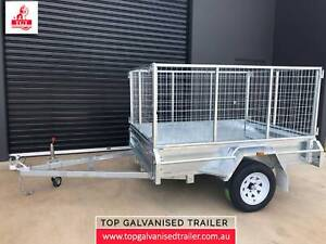 6x4 Galvanised Trailer Fully Welded with 600mm Cage ATM 750kg 7x5, 8x5 Bulleen Manningham Area Preview