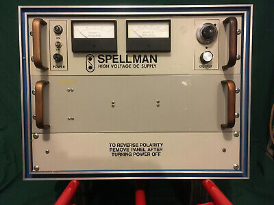 Spellman High Voltage Power Supply 0-100kv Model Rhr100pn100rcp