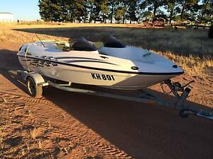 Jet boat.  Sugarsand. Powered by Mercury Wycheproof Buloke Area Preview