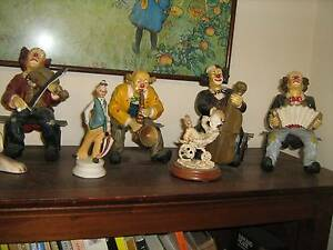 LARGE, CLOWNS WITH INSTRUMENTS, ORNAMENTS Dumbleyung Dumbleyung Area Preview