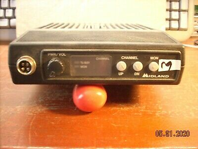 Midland Mobile 70-1066a 66-77 Mhz 30 Watt Dash Mount R9