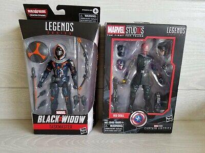 Lot of 2 Hasbro Marvel Legends Taskmaster from Black Widow & Red Skull Villain