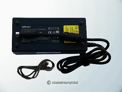 24v 4-pin Ac Adapter Fits Magnavox 26md255-17 Philips Lcd...
