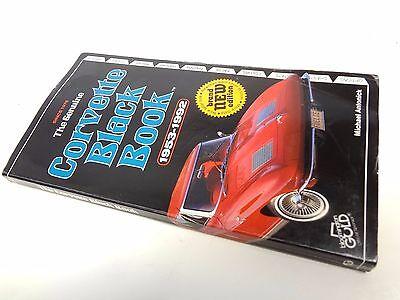 Corvette Black Book 1953 - 1992 C1 C2 C3 C4 Information Technical Options part