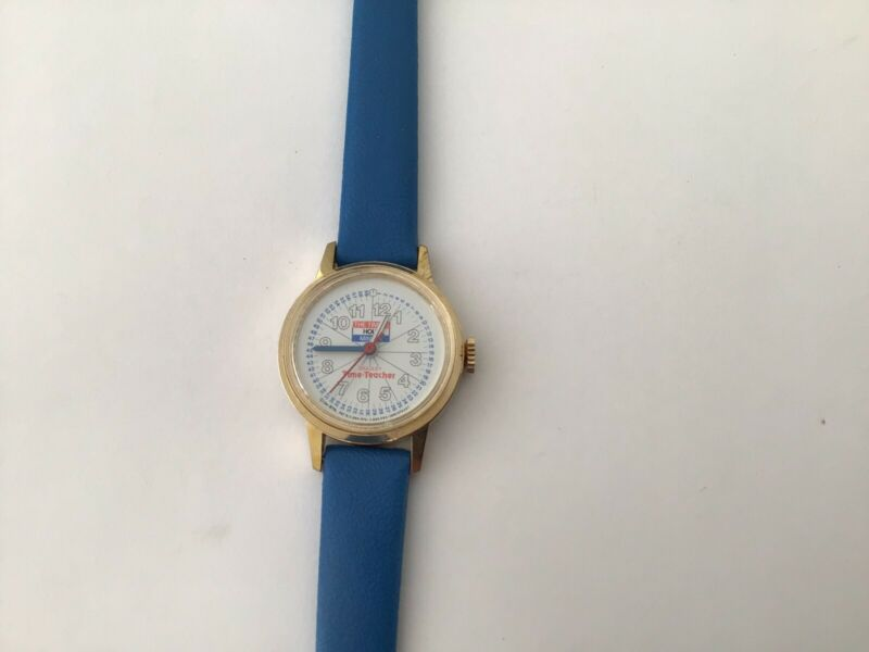 """Classic Vintage Time Teacher """"Bradley"""" Mechanical Watch 1961,fully Operational"""