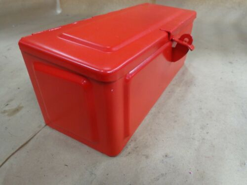 TRACTOR TOOLBOX (UNIVERSAL) FITS ALLIS CHALMERS, CASE, FORD, MASSEY, FARM ALL