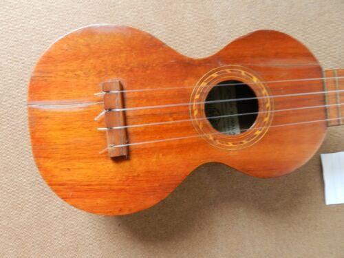 vintage Kumalae circa 1920s koa wood ukulele J