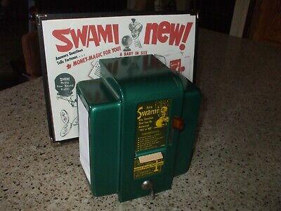 EXCEPTIONAL1950s  swami fortune teller vending machine astrology horoscope # 16