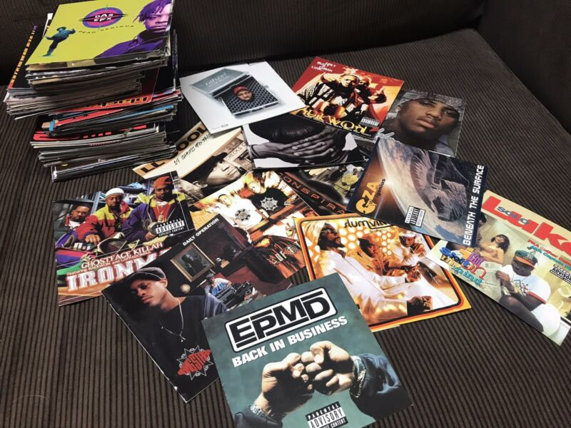 ORIGINAL 90's Hip Hip/ R& B CD Covers 100 pce
