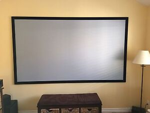 Epson Home Cinema 3000 & screen