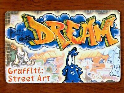 97 THAEKAPTA PHONECARD GRAFFITI / STENCIL STREET ART EDITION GREECE LIKE BANKSY!
