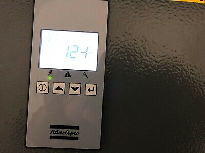 25 Hp Atlas Copco G18 Rotary Screw Air Compressor.