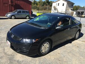 2010 Honda Civic 2 door Coupe; auto;5995.00
